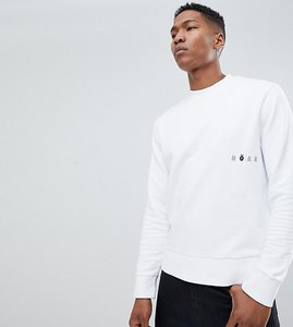 Read more about Noak sweatshirt in white with printed logo - white