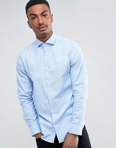 Read more about Selected homme slim shirt with cutaway collar - light blue