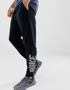 Read more about Nike training dri-fit tapered fleece joggers 920796-010 - black