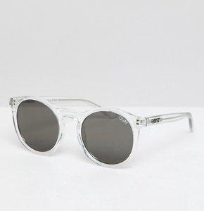 Read more about Quay australia kosha comeback round sunglasses in clear - clear