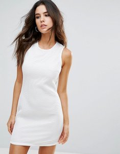 Read more about Little white lies juliette textured dress - white