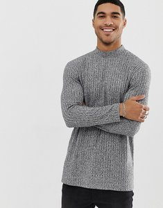 d3dc4f3ec0a7 Read more about Asos design relaxed longline long sleeve turtle neck t-shirt  with side