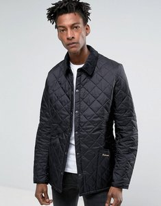 Read more about Barbour heritage liddesdale quilted jacket black - black
