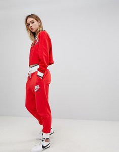 Read more about Nike archive sweatpants in red - university red white
