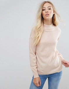 Read more about B young cashmere mix jumper - rose dust