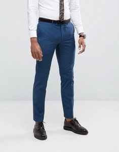 Read more about Farah skinny suit trousers in blue - blue