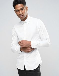 Read more about Sisley shirt in slim fit - white