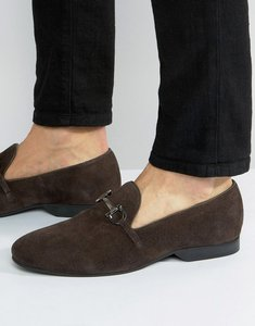 Read more about Frank wright bar loafers brown suede - brown