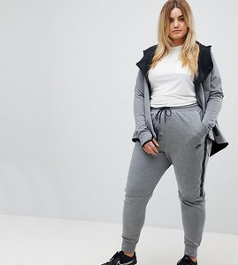 Read more about Nike plus tech fleece sweat pants in grey - grey