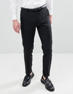 Read more about Harry brown slim 50 wool split lapel navy dinner suit trousers - black