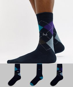 Read more about Pringle waverley socks 3 pack - multi