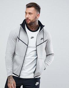 Read more about Nike tech fleece zip hoodie in grey 805144-072 - grey