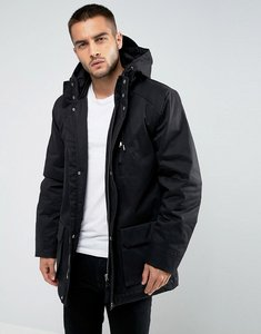 Read more about Bellfield hooded parka - black