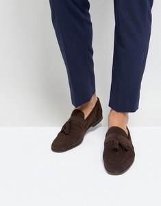 Read more about Kurt geiger london danza suede loafers - brown