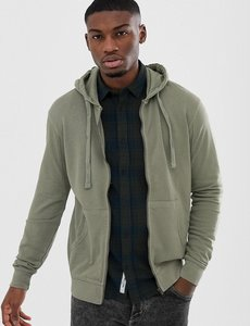 Read more about Only sons zip thru sweat hoodie