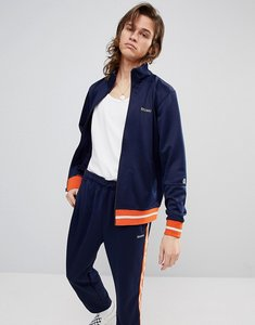 Read more about Stussy poly track jacket with small logo - navy