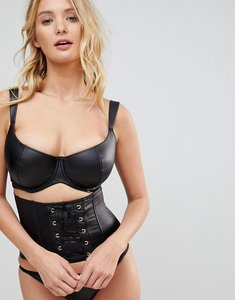 Read more about Pour moi contradiction flaunt balconette bra b-g cup - black