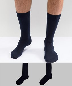 Read more about Selected homme socks 2 pack - navy navy