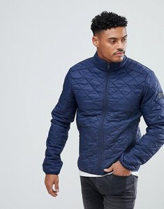 Read more about Blend quilted jacket in navy - mood indigo blue