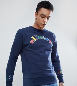 Read more about Ellesse multi colour logo sweatshirt in navy - navy