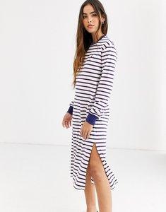 Read more about Polo ralph lauren stripe midi dress