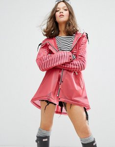 Read more about Hunter womens original festival raincoat - bright pink