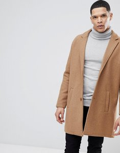 Read more about Bershka wool overcoat in camel - camel