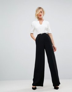 Read more about Ted baker straight leg jumpsuit - black