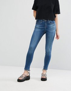 Read more about Waven freya low waist ankle grazer skinny jeans - steel blue
