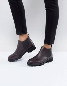 Read more about Asos analise leather chelsea boots - oxblood