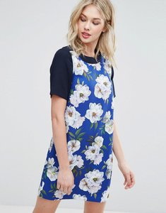Read more about Oasis floral shift dress - multi