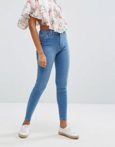 Read more about Bershka skinny high waist jean - light blue