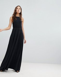 Read more about Glamorous pleated maxi dress - black