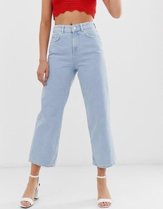 Read more about Pieces bex cropped wide leg jeans