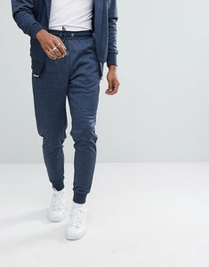 Read more about Ellesse poly tricot track joggers in navy - navy
