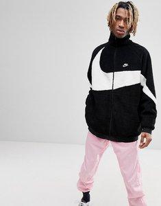 Read more about Nike vaporwave reversible polar fleece track jacket in black aj2701-010 - black
