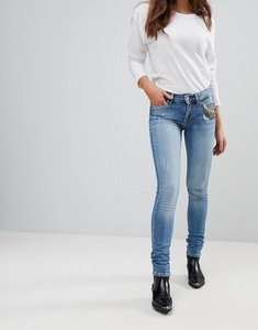 Read more about Pepe jeans blue soul slim jeans - denim