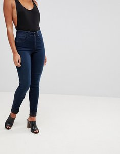 Read more about Salsa glamour push up mid rise skinny jean - dark blue