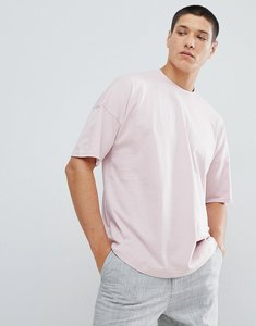 Read more about For dropped shoulder t-shirt in pink - pink