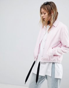 Read more about Cheap monday coach jacket - pale pink