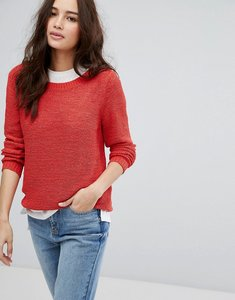 Read more about Only knitted jumper - red