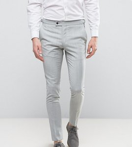 Read more about Hart hollywood super skinny wedding suit trousers - pale grey