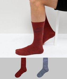 Read more about Nike 2 pack crew socks in multi sx5403-914 - multi