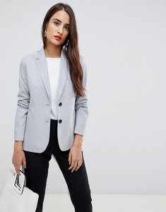 Read more about French connection colourblock blazer - black white