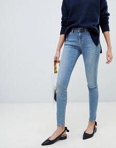 Read more about Selected femme skinny jean - medium blue denim