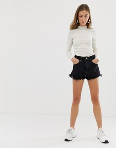 Read more about Abrand high waisted denim shorts