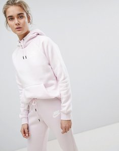 Read more about Nike rally pullover hoodie in pearl pink - pearl pink pearl pin