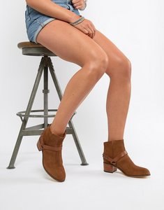 Read more about H by hudson leather ankle boots - tan