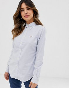 Read more about Polo ralph lauren classic stripe oxford shirt