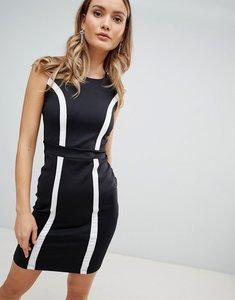 Read more about Zibi london monochrome bodycon dress - black